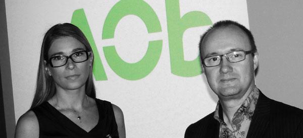 Katja van Well en Philippe Abbing